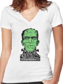 Franks n' Steins Women's Fitted V-Neck T-Shirt