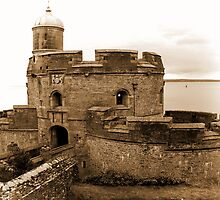St. Mawes Castle by Country  Pursuits