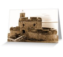 St. Mawes Castle Greeting Card