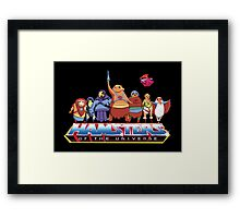 Hamsters Of The Universe Framed Print