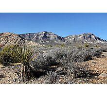 Blue Diamond Mountains, Nevada Photographic Print