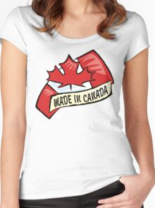 Made In Canada Women's Fitted Scoop T-Shirt