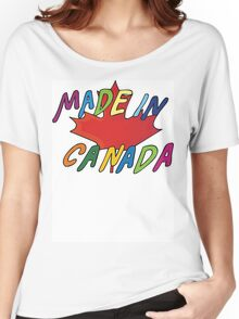 Made In Canada Women's Relaxed Fit T-Shirt