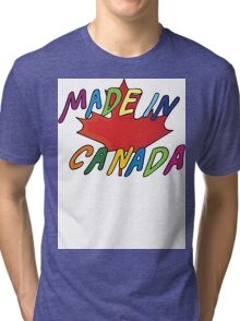 Made In Canada Tri-blend T-Shirt