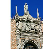 The Doges' Palace, Venice Photographic Print