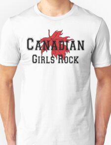 Canadian Girls Rock Unisex T-Shirt