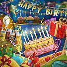 Happy Birthday Card by SandraWidner