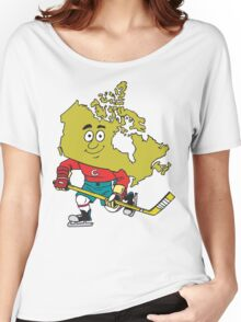 Canadian Hockey Women's Relaxed Fit T-Shirt