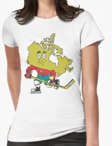 Canadian Hockey Womens Fitted T-Shirt