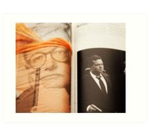 Homage to Film Critic Roger Ebert Art Print