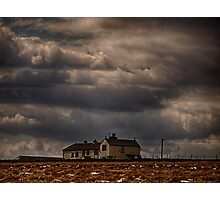 Ovenden Moor Farmhouse  Photographic Print
