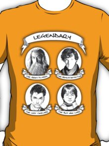 Gandalf, Sherlock, The Doctor and Harry T-Shirt
