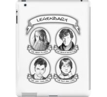 Gandalf, Sherlock, The Doctor and Harry iPad Case/Skin