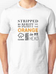 Orange Clouds T-Shirt