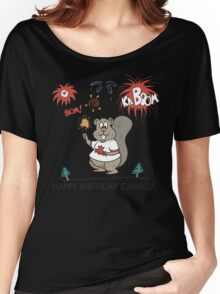 Happy Birthday Canada Women's Relaxed Fit T-Shirt