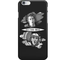 The Doctor and Donna Noble (with DW Logo) iPhone Case/Skin