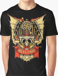 OWL STEAMPUNK Graphic T-Shirt