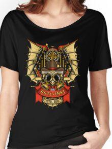 OWL STEAMPUNK Women's Relaxed Fit T-Shirt