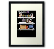 British YouTubers Poster Framed Print