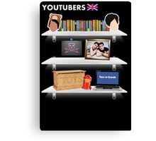 British YouTubers Poster Canvas Print