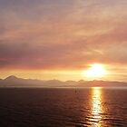 Smokey Sunset o'er The Cuillins by caledoniadreamn