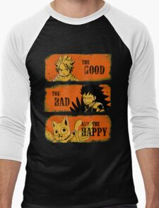 The Good, the Bad and the Happy Men's Baseball ¾ T-Shirt