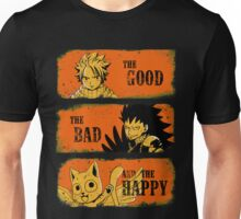 The Good, the Bad and the Happy Unisex T-Shirt