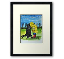 """Do you want to come and play with me"" Framed Print"