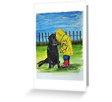 """Do you want to come and play with me"" Greeting Card"