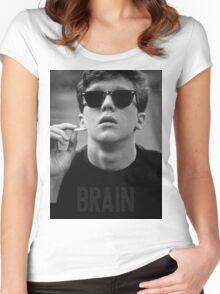 Brain - The Breakfast Club Women's Fitted Scoop T-Shirt