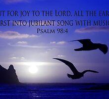 shout for joy! by dedmanshootn