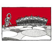 The Olympic Stadium Photographic Print