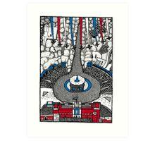The Diamond Jubilee Red Arrows Art Print
