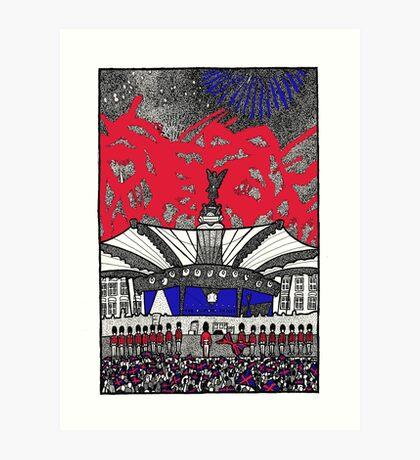 The Diamond Jubilee concert Art Print