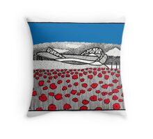The Amex Throw Pillow