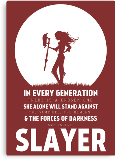 She Is The Slayer by mcgani