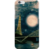 One Starry Night in Paris iPhone Case/Skin
