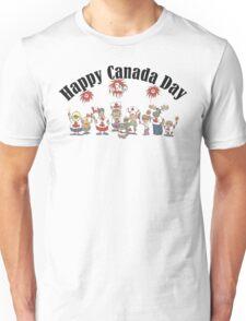 Happy Canada Day Unisex T-Shirt