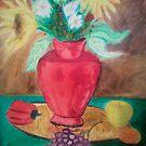 red vase # 0 by mark45xxx