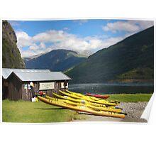 Flåm, Norway Poster