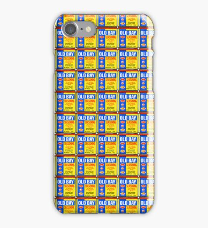 Old Bay Cans iPhone Case/Skin