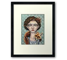 Isabelle and Ludwig Framed Print