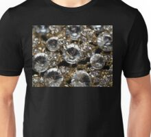 Diamonds and Gold SuperMacro 11 Unisex T-Shirt