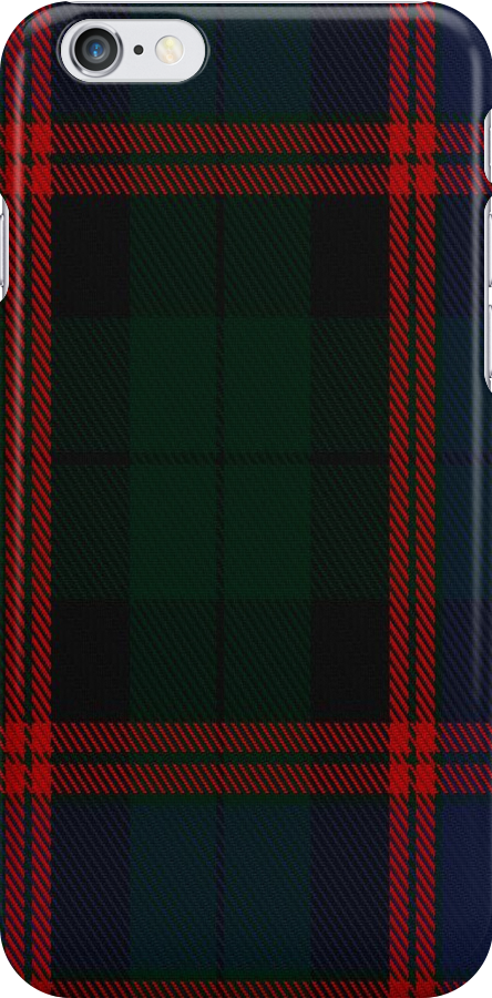 01662 Bentley Tartan Fabric Print Iphone Case  by Detnecs2013