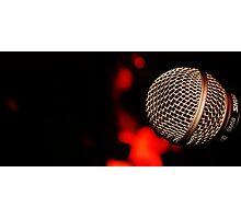 Microphone Rw Photographic Print