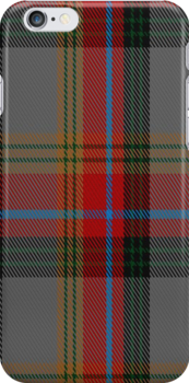 01669 Berwick -upon -Tweed (asymmetric) District Tartan Fabric Print Iphone Case by Detnecs2013