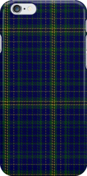 01672 Beynon Tartan Fabric Print Iphone Case by Detnecs2013