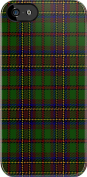 01675 Bicentenary Commemorative Tartan Fabric Print Iphone Case by Detnecs2013