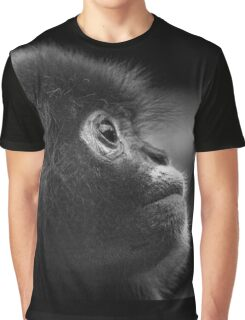 deep thought baby monkey Graphic T-Shirt