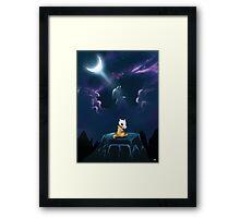 Pokemon Cubone & Marowak Framed Print